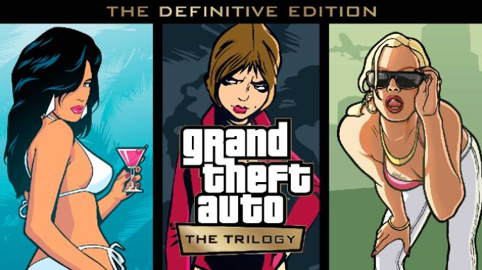 Rockstar Announces <i>GTA Trilogy: The Definitive Edition</i>