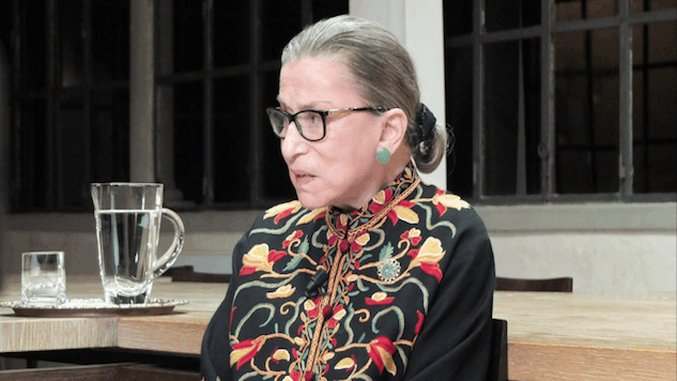 Supreme Court Justice and Workout Hero Ruth Bader Ginsburg Is Starring In Her Own Fitness Book