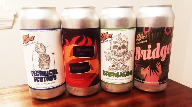 Tasting Four Beers From St. Louis's 2nd Shift Brewing