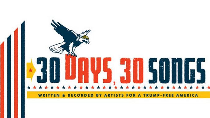 "Jim James, R.E.M., Death Cab for Cutie, More Team Up for Anti-Trump Project ""30 Days, 30 Songs"""