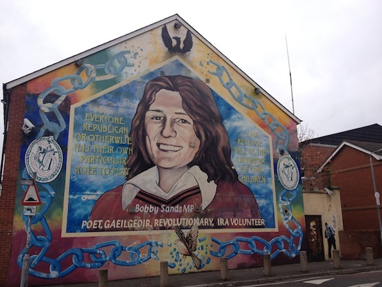Greetings from belfast northern ireland travel for Bobby sands mural