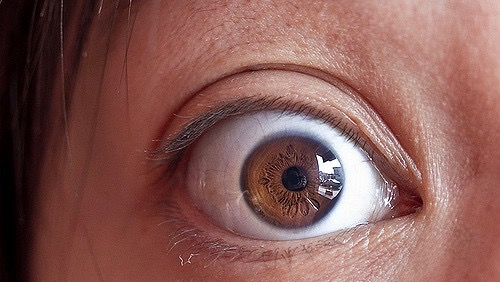 Eyes Reveal The Moment of Epiphany