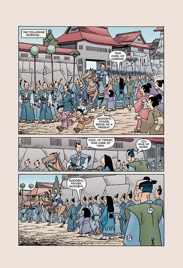 47 Ronin by Mike Richardson and Stan Sakai :: Books :: Paste