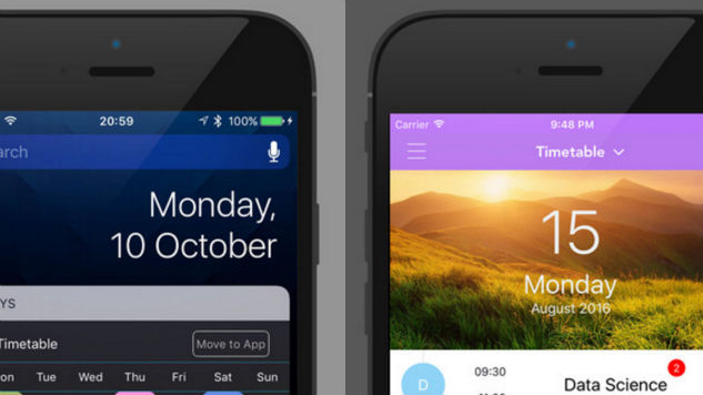 7days is Both a Timetable and Schedule App