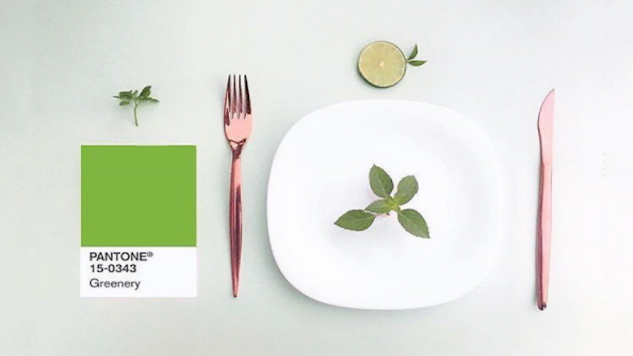 December Instagallery: Food as Greenery