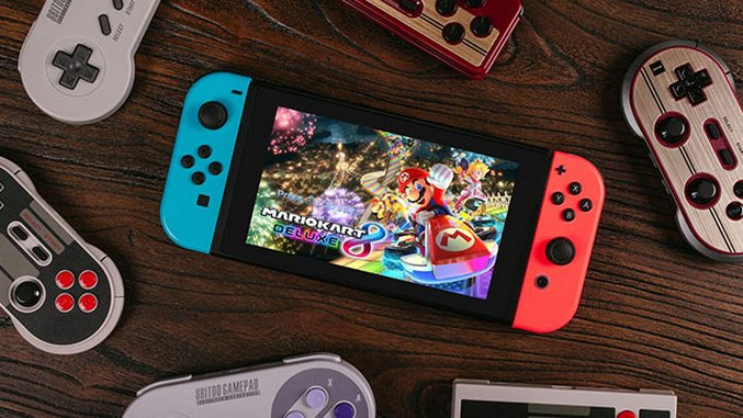 8Bitdo Controllers are Now Compatible with Your Nintendo Switch