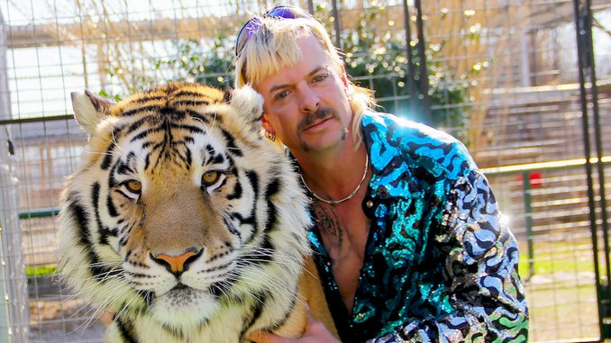 Joe Exotic Sees Spike on Spotify After <i>Tiger King</i>