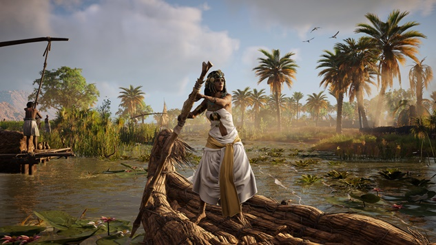 <i>Assassin's Creed Origins</i>' New Discovery Tour Censors Nude Statues