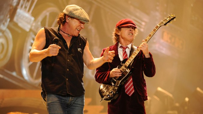 AC/DC Confirm Return Of Brian Johnson, Phil Rudd And Cliff Williams