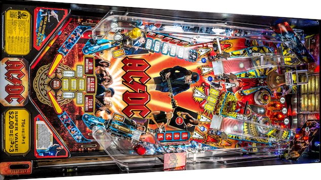 World's Leading Pinball Producer Reintroduces AC/DC Pinball Back into the Wild