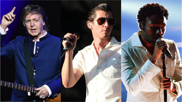 Austin City Limits Announces 2018 Lineup: Paul McCartney, Arctic Monkeys, Childish Gambino, Others to Headline