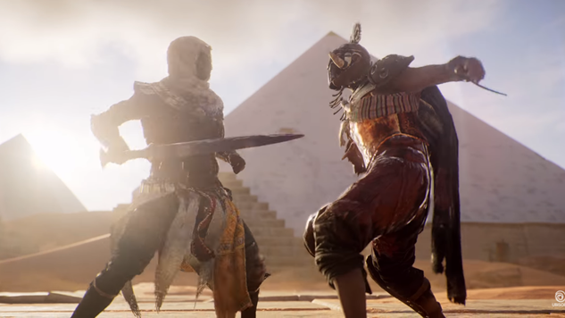 Ubisoft Details First Assassin's Creed Origins Expansion The Hidden Ones