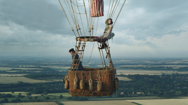 Take a First Look at Eddie Redmayne and Felicity Jones in <I>The Aeronauts</i>