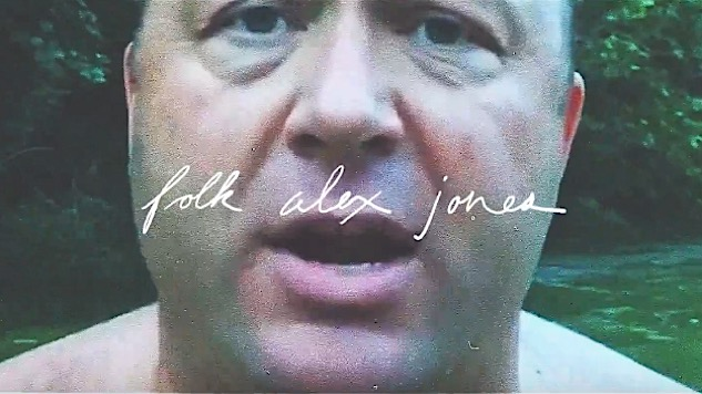 Watch This Ingenious Video Setting Insane Alex Jones Rants to Gentle Folk Music