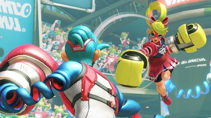 <i>Arms</i> Is a Promising Compromise Between Nintendo's Past and Future