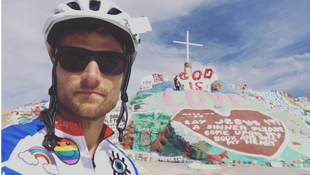 Read Psych-Rocker Rich Aucoin's Tour Diary as He Bikes Across America
