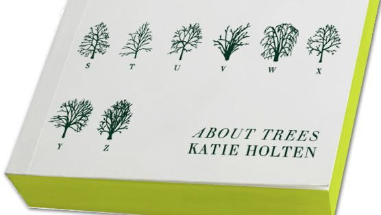 New Book <i>About Trees</i> is Written In Tree Typeface