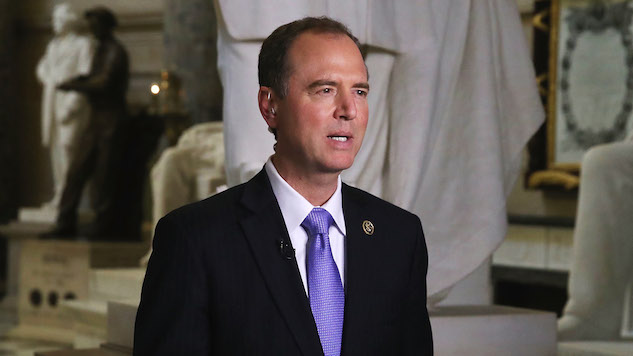 Trump Goes After Adam Schiff for Lying, Leaking