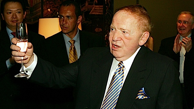 Adelson Gives $30 Million To Help GOP Save The House