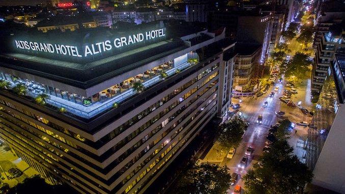Hotel Intel: Altis Grand Hotel, Lisbon, Portugal