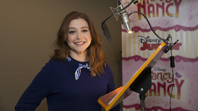 Alyson Hannigan Talks <i>Fancy Nancy</i>, Voice Acting and How She Got Her Start