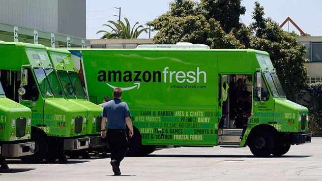 Amazon's March to Devour Wal-Mart and Own the New Economy