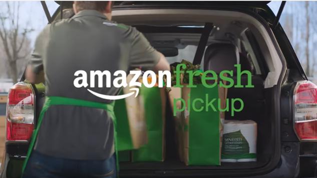 Amazon Unveils New Drive-up Grocery Pickup Program