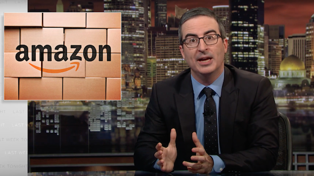 John Oliver Asks Consumers to Consider the Warehouse Worker on <i>Last Week Tonight</i>