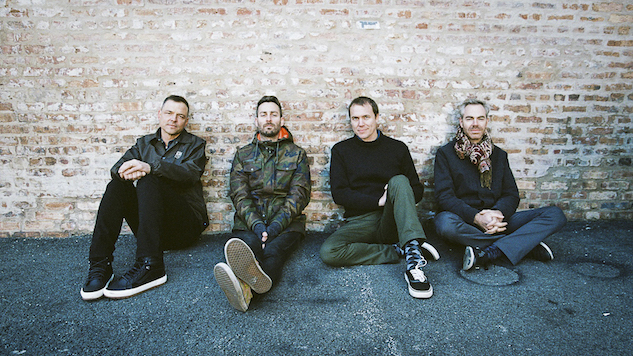 "American Football Explore Modern Isolation in ""I Can't Feel You (feat. Rachel Goswell)"" Video"