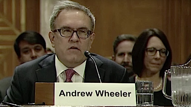 Five Things to Know About Andrew Wheeler, the New Maniac in Charge of the EPA