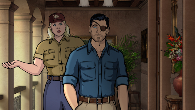 with danger island archer shows its age tv reviews archer