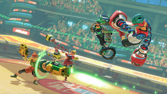 Custom Controls Coming to Nintendo's <i>Arms</i> Ver. 3