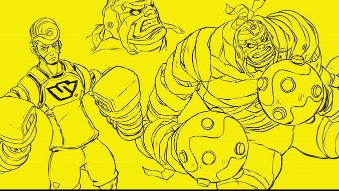 Dark Horse and Nintendo Announce <i>ARMS</i> Graphic Novel at NYCC