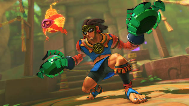 New <i>ARMS</i> Character Is a South American-Based Fighter Named Misango