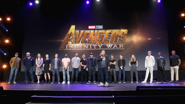 The Russo Brothers Tease <i>Avengers: Infinity War</i> Trailer With Apparent Countdown