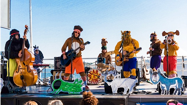 Bears and Lions Are Your New Favorite Seven-Piece Animal-Based Folk Group