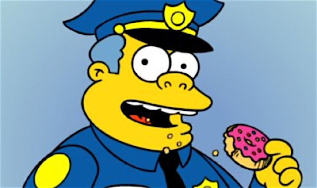 The 20 best simpsons characters of all time tv lists paste - Police simpsons ...