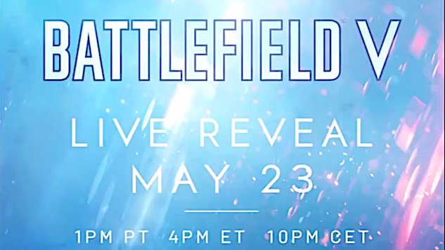 <i>Battlefield V</i> Officially Teased Ahead of Wednesday's Planned Reveal