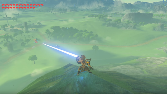 This Perfect Parry in Breath of the Wild Deserves a Medal