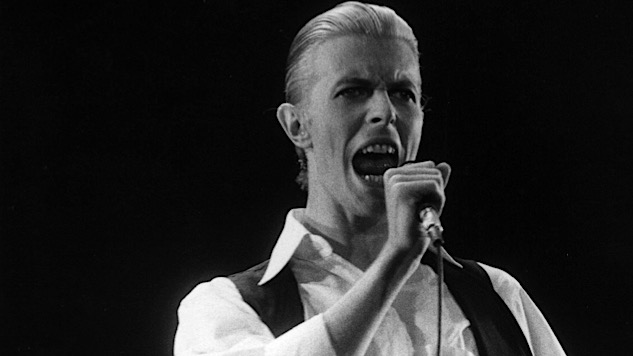 How David Bowie Arrived at the Addled Splendor of Station to Station