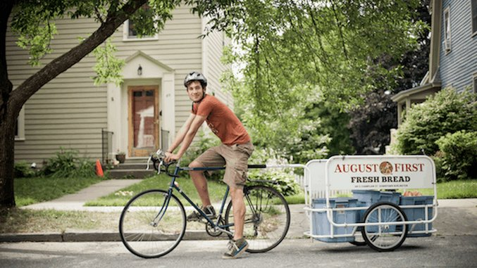 This Vermont Bakery Delivers Bread by Bike