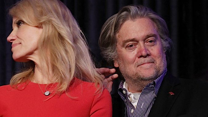 How Do You Fight Back Against Someone Like Steve Bannon? A Guide for the Left.