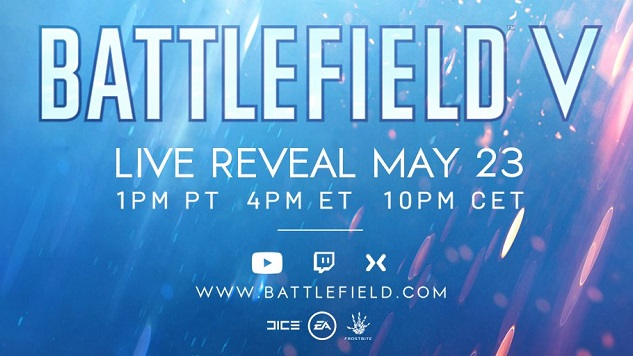 <i>Battlefield V</i> Confirmed, Live Reveal Stream Coming Next Week