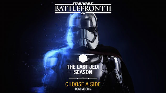 <i>Star Wars: Battlefront II</i> Players Will Choose a Side in <i>The Last Jedi</i> DLC