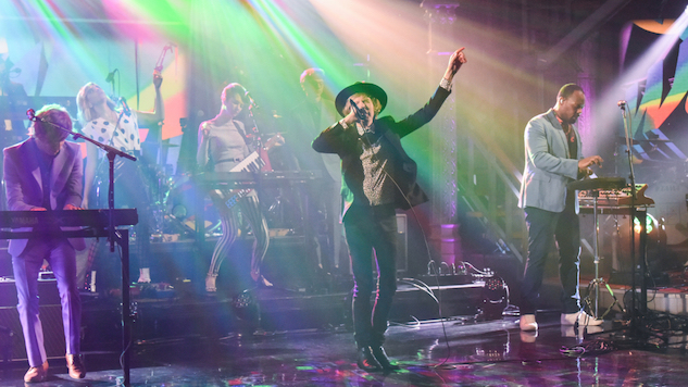 "Watch Beck Sing ""Wow"" and ""Colors"" on <i>Colbert</i>"