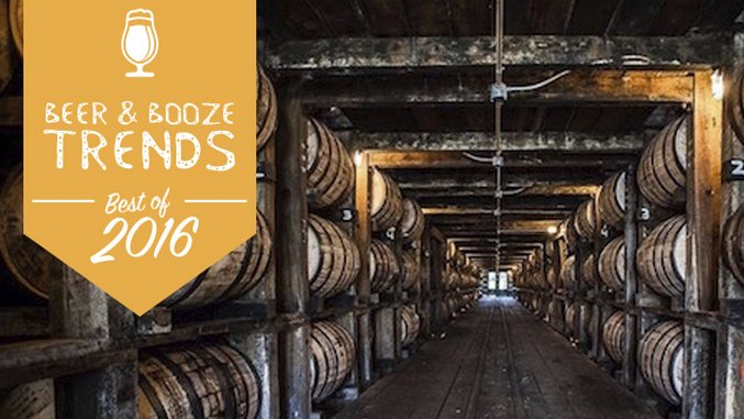 Best Beer and Booze Trends of 2016