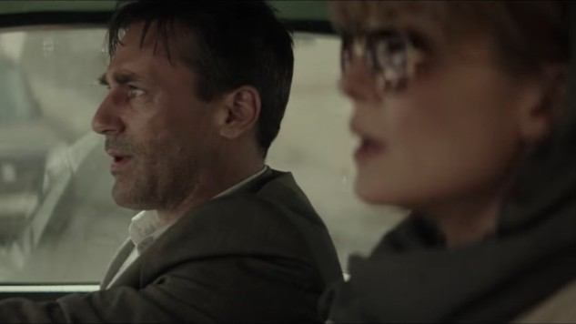 Tensions Are High For Jon Hamm and Rosamund Pike in New <i>Beirut</i> Clip