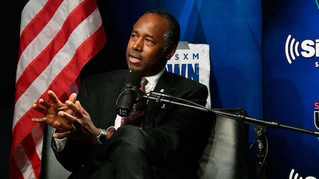 """Ben Carson Thinks Poverty is Largely a """"State of Mind"""""""