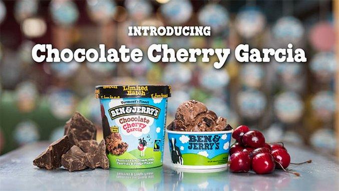 Ben & Jerry's Introduces Chocolate Cherry Garcia