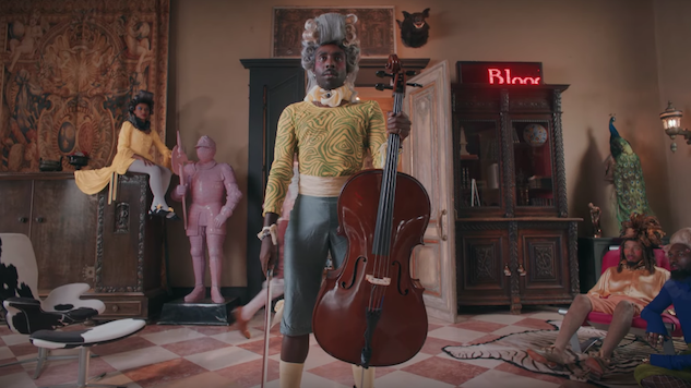 "Blood Orange Says ""Oui"" to Powdered Wigs in New ""Benzo"" Video"